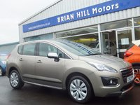 USED 2014 63 PEUGEOT 3008 1.6 HDI ACTIVE 5d