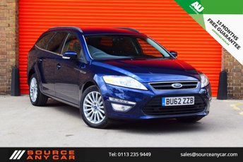 2012 FORD MONDEO 2.0 ZETEC BUSINESS EDITION TDCI 5d 161 BHP £8750.00