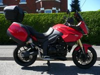 USED 2012 62 TRIUMPH TIGER 1050 SPORT SE ABS  Full Service History, Full Triumph Luggage, Superb