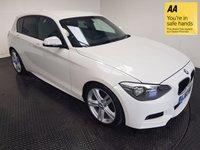 USED 2013 62 BMW 1 SERIES 2.0 120D M SPORT 5d 181 BHP FSH-SPORT MODE-BLUETOOTH-ALLOYS