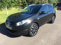 USED 2012 62 NISSAN QASHQAI 2.0 N-TEC PLUS DCI 5d AUTO 148 BHP4wd GREAT SPEC AUTO 4X4 DIESEL WITH ONLY 34K BACKED UP BY FULL NISSAN HISTORY