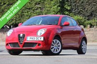 USED 2011 11 ALFA ROMEO MITO 1.4 JUNIOR 16V A/C 3d 78 BHP Very Low Miles - F*S*H