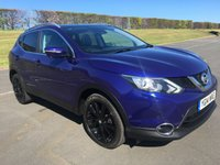 USED 2014 14 NISSAN QASHQAI 1.6 DCI TEKNA 5d 128 BHP BEAUTIFUL COLOUR COMBINATION
