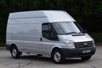 USED 2013 63 FORD TRANSIT 2.2 350 5d 125 BHP EURO 5 ECO DRIVE LWB HIGH ROOF DIESEL PANEL MANUAL VAN  ONE OWNER S/HISTORY EURO 5