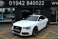 USED 2013 13 AUDI A5 2.0 TDI S LINE BLACK EDITION 2d AUTO 177 BHP 23k FASH,LEATHER,