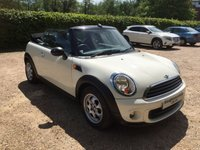 USED 2014 14 MINI CONVERTIBLE 1.6 ONE 2d 98 BHP Get Ready For The Summer !