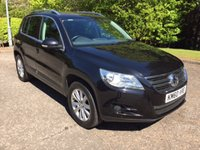 USED 2010 60 VOLKSWAGEN TIGUAN 2.0 MATCH TDI 4MOTION DSG 5d AUTO 138 BHP 6 MONTHS PART AND LABOUR WARRANTY