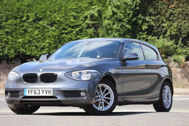 2013 63 BMW 1 SERIES 1.6 116D EFFICIENTDYNAMICS 3d 114 BHP