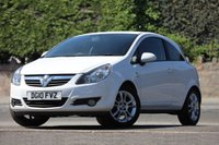 USED 2010 10 VAUXHALL CORSA 1.2 SXI 3d 83 BHP 1 Owner From New
