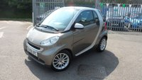 2009 SMART FORTWO 1.0 PASSION MHD 2d AUTO 71 BHP £3495.00