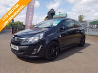 USED 2014 14 VAUXHALL CORSA 1.2 LIMITED EDITION 3d 83 BHP THE CAR FINANCE SPECIALISTS