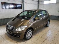 2009 MERCEDES-BENZ A CLASS 2.0 A160 CDI ELEGANCE SE 5d AUTO 81 BHP £4950.00