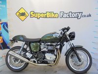 USED 2014 64 TRIUMPH THRUXTON  GOOD & BAD CREDIT ACCEPTED, OVER 300+ BIKES