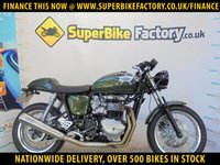 USED 2014 64 TRIUMPH THRUXTON  GOOD & BAD CREDIT ACCEPTED, OVER 500+ BIKES