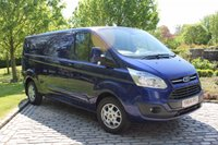 USED 2015 64 FORD TRANSIT CUSTOM 2.2 290 LIMITED LR P/V 1d 124 BHP Transit Custom L2, Limited Model,