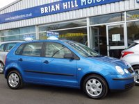 2003 VOLKSWAGEN POLO 1.2 TWIST 5d  £1695.00