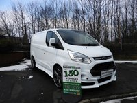 2015 FORD TRANSIT CUSTOM 2.2 270 LIMITED FULL RS STYLING PACK 1 OWNER FSH  125 BHP CHOICE IN STOCK £15500.00