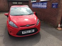 USED 2013 62 FORD FIESTA 1.4 EDGE TDCI 3d 69 BHP ONLY £20 ROAD TAX, FULL SERVICE HISTORY