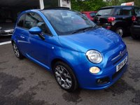 USED 2014 14 FIAT 500 1.2 CONVERTIBLE S 3d 69 BHP One Lady Owner from new, MOT until May 2018 (no advisories), Fiat Service History + Just Serviced by ourselves, Great on fuel! Only £30 Road Tax!