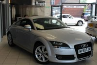 USED 2010 59 AUDI TT 2.0 TFSI 3d 200 BHP HALF BLACK LEATHER SEATS + FULL SERVICE HISTORY + 17 INCH ALLOYS + ELECTRIC WINDOWS + CLIMATE CONTROL
