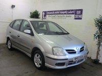 2003 NISSAN ALMERA 1.8 TINO SE 5d 114 BHP £750.00