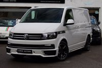 USED 2016 16 VOLKSWAGEN TRANSPORTER T6 2.0 TDI 102ps TRENDLINE SWB PANEL VAN FULL SPORT X DESIGN PACK  / SPORTLINE