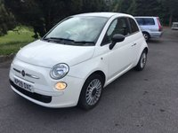USED 2009 09 FIAT 500 1.2 POP 3d 69 BHP LOOKS GREAT IN WHITE WITH FULL SERVICE HISTORY