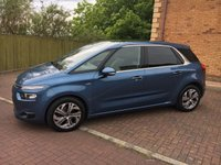USED 2014 14 CITROEN C4 PICASSO 1.6 E-HDI AIRDREAM EXCLUSIVE PLUS 5d 113 BHP Amazing Spec and £20 Road Tax