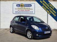 USED 2006 56 TOYOTA YARIS 1.3 T SPIRIT VVT-I 5d 86 BHP A/C Low Insurance 47+MPG 0% Deposit Finance Available