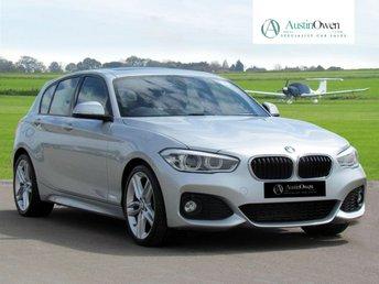 2015 BMW 1 SERIES 2.0 118D M SPORT 5d AUTO 147 BHP £16990.00
