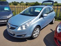 USED 2008 58 VAUXHALL CORSA 1.4 DESIGN 3d 90 BHP VERY LOW MILES - 23K F*S*H