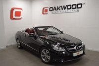 USED 2014 14 MERCEDES-BENZ E CLASS 2.1 E220 CDI SE CONVERTIBLE AUTO 170 BHP STUNNING RED LEATHER