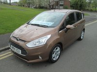 USED 2014 14 FORD B-MAX 1.6 ZETEC 5d AUTO 104 BHP FULL MAIN DEALER SERVICE HISTORY- POWERSHIFT AUTOMATIC - 18,000 GUARANTEED MILES - 1 OWNER FROM NEW