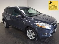USED 2010 60 FORD KUGA 2.0 TITANIUM TDCI AWD 5d AUTO 163 BHP FSH-BLUETOOTH-LEATHER-A/C