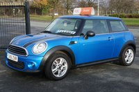 USED 2012 61 MINI HATCH ONE 1.6 ONE D PIMLICO 3d 89 BHP 6 Month Free RAC Warranty upgrade to 12 for ONLY £99