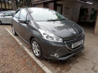 USED 2013 13 PEUGEOT 208 1.2 ACTIVE 5d 82 BHP ONLY £20 A YEAR ROAD TAX!, SERVICE HISTORY, BLUETOOTH PHONE CONNECTION, USB AND AUX, FOG LIGHTS, CRUISE CONTROL