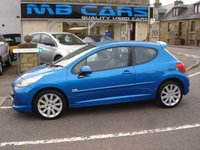USED 2008 08 PEUGEOT 207 1.6 SPORT XS 3d 148 BHP ONLY 56000 MILES FROM NEW