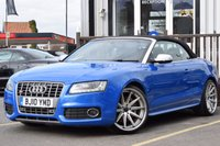 USED 2010 10 AUDI A5 3.0 S5 TFSI QUATTRO 2d AUTO 329 BHP CAR REDUCED FROM £17830, MANAGERS SPECIAL. FULL SERVICE HISTORY 5 STAMPS. SUPERB CONDITION
