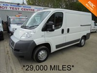USED 2012 12 FIAT DUCATO SWB 2.2 35 MULTIJET 100 BHP *ONLY 29,000 MILES*