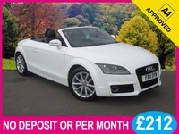 USED 2011 11 AUDI TT 1.8 TFSI SPORT 2dr CONVERTIBLE BOSE SOUND BLACK LEATHER MEDIA