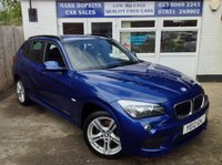 USED 2012 12 BMW X1 2.0 XDRIVE20D M SPORT 5d AUTO 174 BHP *35K FSH  TWO OWNERS  HIGH SPEC MODEL  EXCELLENT CONDITION*