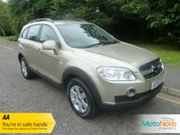 USED 2007 57 CHEVROLET CAPTIVA 2.0 LT VCDI 5d AUTO 148 BHP FANTASTIC SEVEN SEAT 4X4 AUTOMATIC CAPTIVA WITH AIR CONDITIONING, ALLOY WHEELS AND SERVICE HISTORY