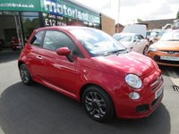 USED 2014 64 FIAT 500 1.2 S 3d 69 BHP LOW TAX AND LOW INSURANCE