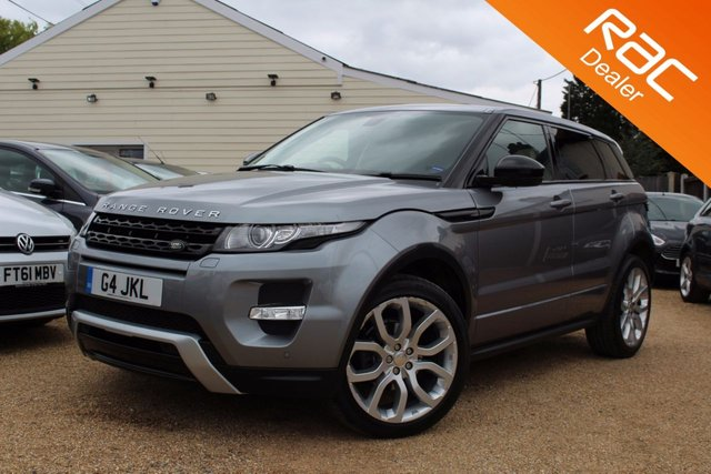 View our 2014 63 LAND ROVER RANGE ROVER EVOQUE 2.2 SD4 DYNAMIC 5d AUTO 190 BHP