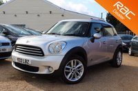 USED 2012 12 MINI COUNTRYMAN 1.6 COOPER D ALL4 5d 112 BHP Sat Nav, Full Leather & more