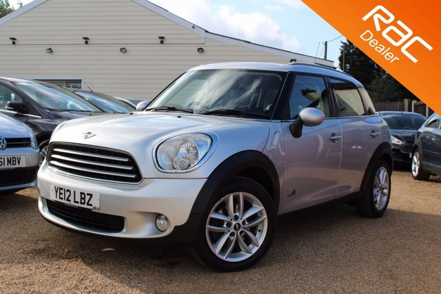 View our 2012 12 MINI COUNTRYMAN 1.6 COOPER D ALL4 5d 112 BHP