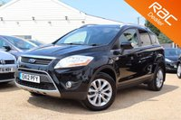 USED 2012 12 FORD KUGA 2.0 TITANIUM TDCI AWD 5d AUTO 163 BHP Sony Stereo, Bluetooth, power shift