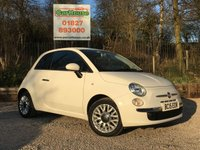 USED 2015 15 FIAT 500 1.2 POP STAR 3dr £20 Tax, Alloys, Air Con, FSH