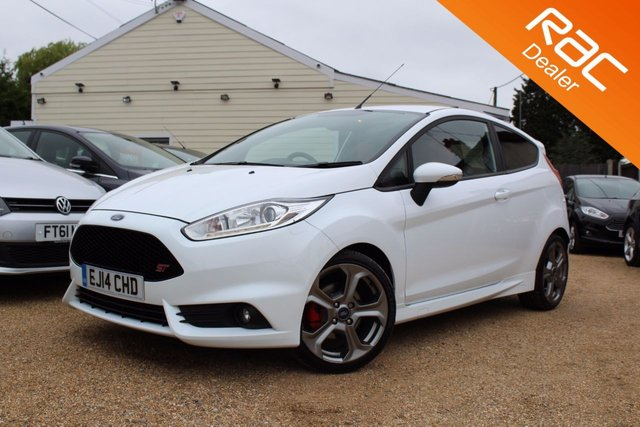 View our 2014 14 FORD FIESTA 1.6 ST-2 3d 180 BHP