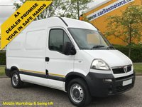 2008 VAUXHALL MOVANO 3500 High Roof [ Mobile Workshop+Swing Lift ] L1 H2 van Free UK Delivery £5950.00